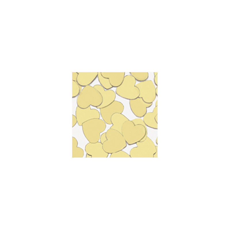 Konfetki - Gold Hearts