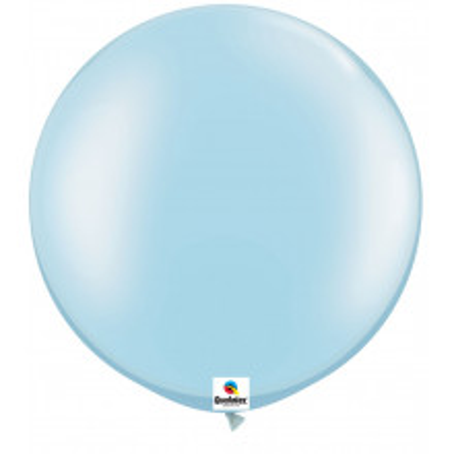Balon Pearl Light Blue 75 cm