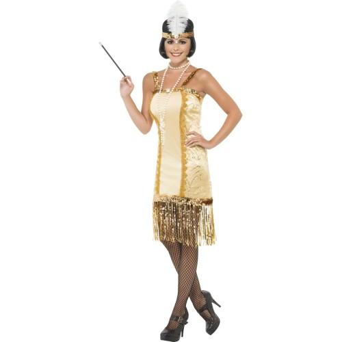 Flapper zlati kostum