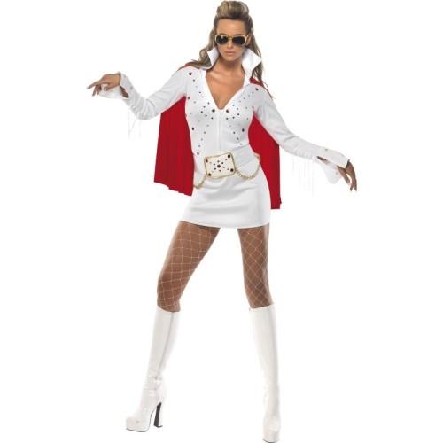 Lady Elvis kostum
