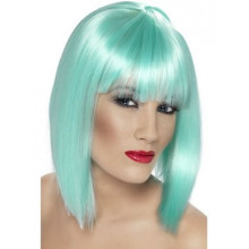 Glam lasulja - neon turkizna