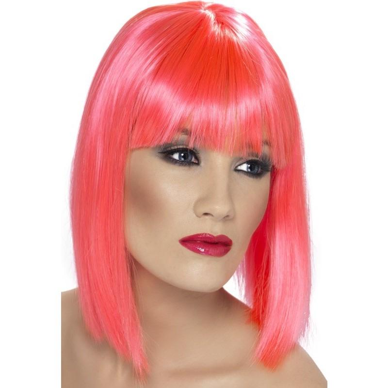 Glam lasulja - neon pink