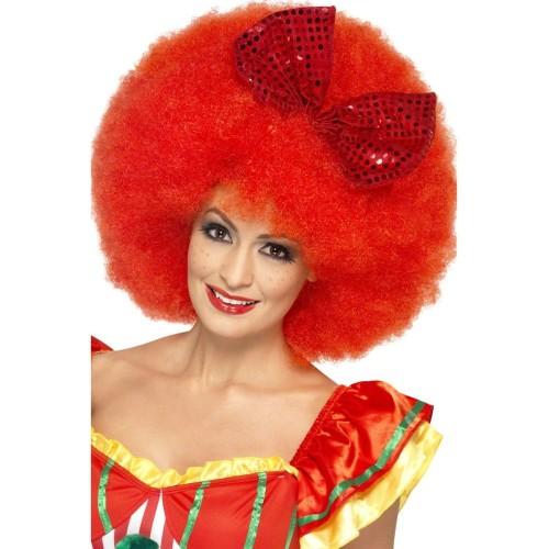 Mega afro lasulja - rdeča