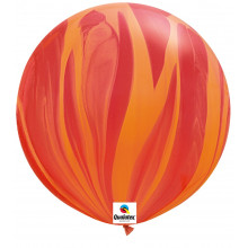 Balon SA O - Red 75 cm