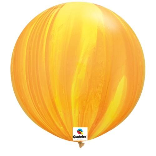 Balon SA Y- Orange 75 cm