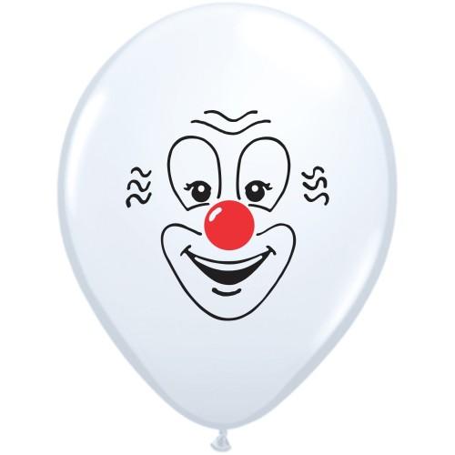 Balon Clown Face 28 cm