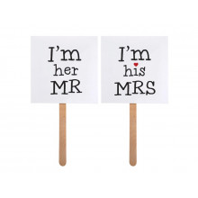 Im his MRS and Im her MR - on stick