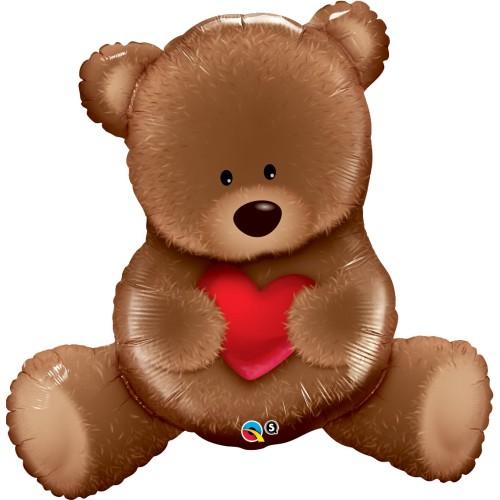 Teddy Bear Love - foil balloon