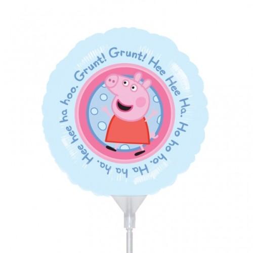 Pujsa Pepa - folija balon na palčki