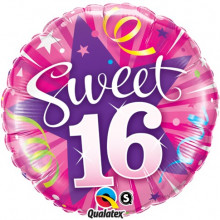 Sweet 16 Shining Star - folija balon