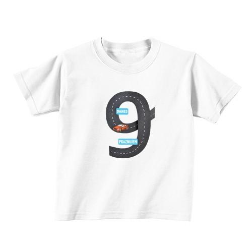 Dječja majica - broj 9 - autocesta