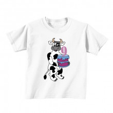 Kids T - Shirt - Number 9 - Cow