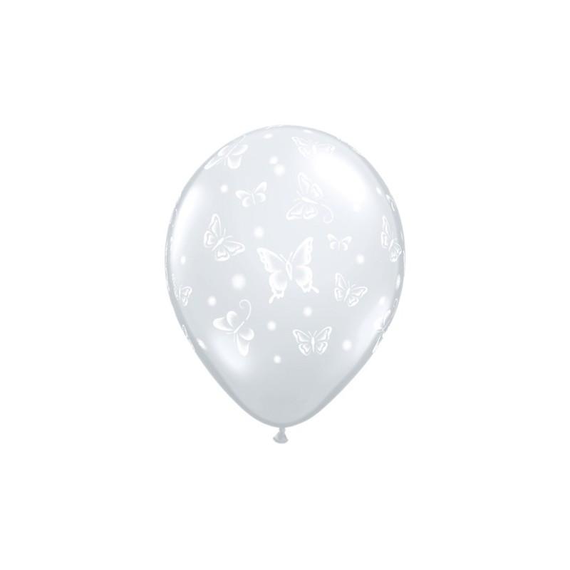 Balon Butterflies - prozoren
