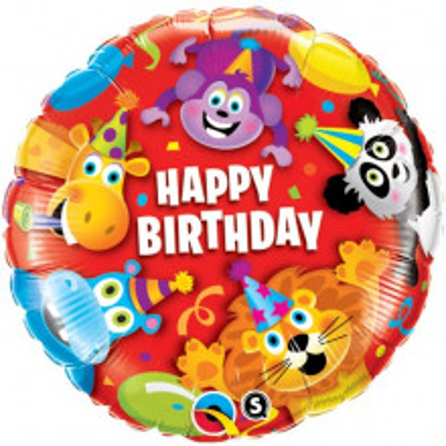 Birthday Party Animals - folija balon