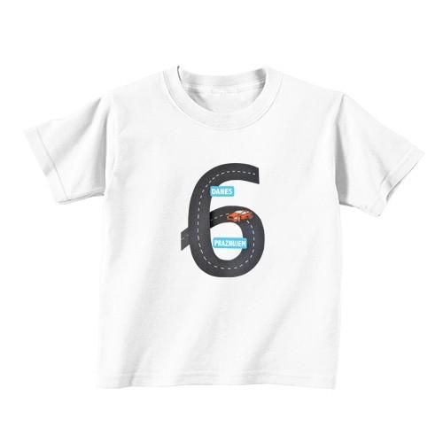 Kinder T-Shirt - Nummer 6 - Avtobahn