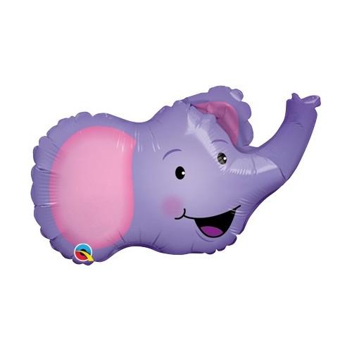 Slonček - folija balon na palčki