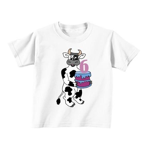 Dječja majica - Broj 6 - krava