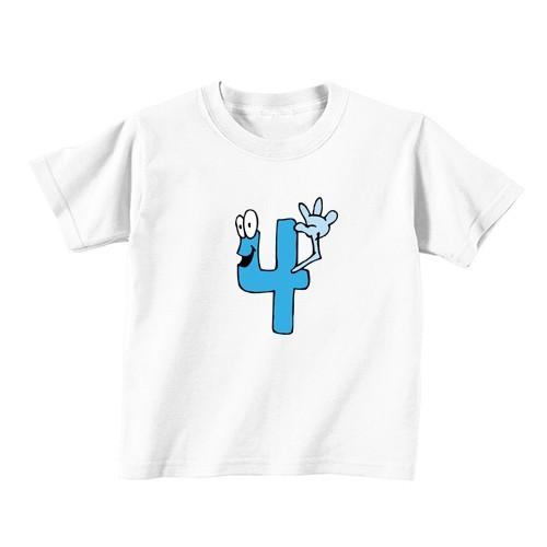 Otroška majica - Številka 4