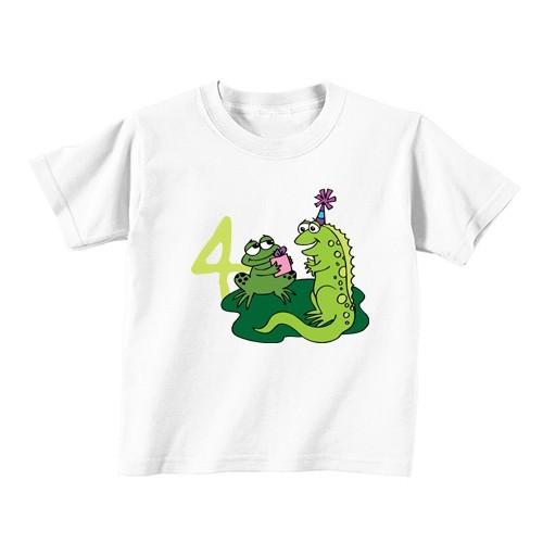 Otroška majica - Številka 4 - žabica