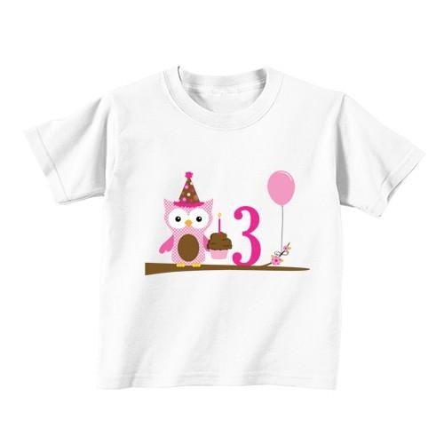 Otroška majica - Številka 3 - sovica