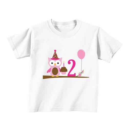Otroška majica - Številka 2 - sovica