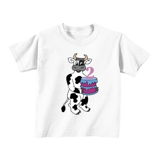 Otroška majica - Številka 2 - kravica