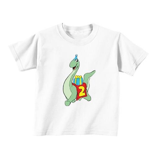 Otroška majica - Številka 2 - dinozaver