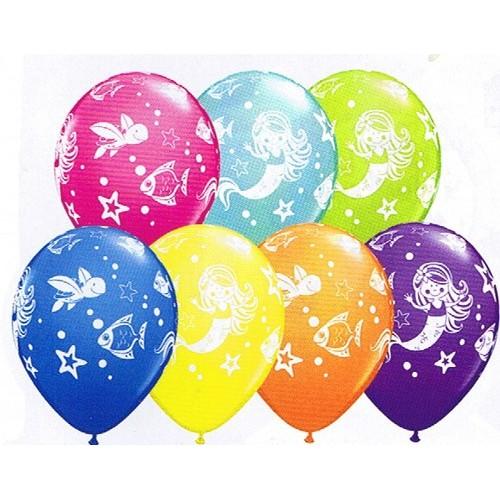 Balloon Merry Mermaids & Friends