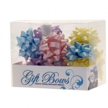 Ribbons in a box - pastel colors
