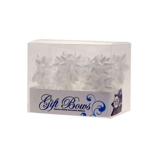 Mašne v škatlici - bela
