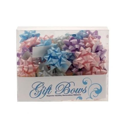 Mini ribbons in a box - pastel colors