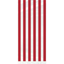 Cello bags with red stripes