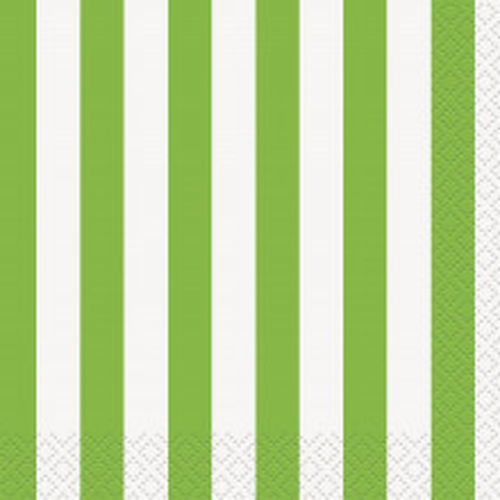 Zelene črte mali servieti