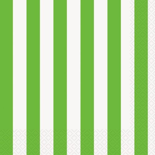 Zelene črte večji servieti