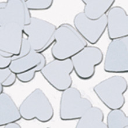 Konfetki - Silver Hearts