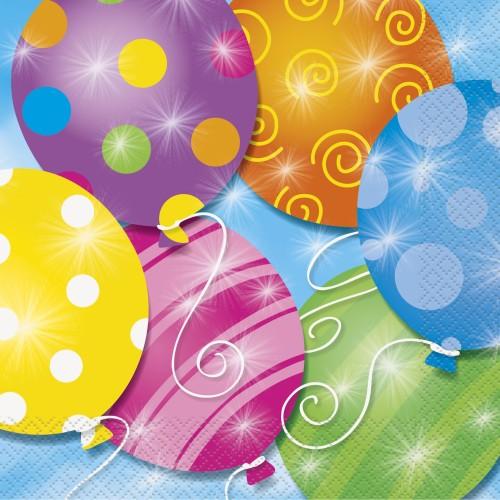 Twinkle Balloons napkins