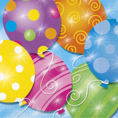 Twinkle balloons serviete