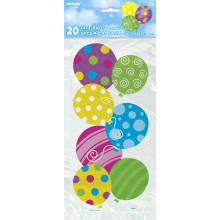 Twinkle Balloons cello bags