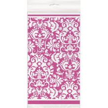 Tablecover - pink Damask