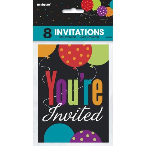 Birthday Cheer Invitations