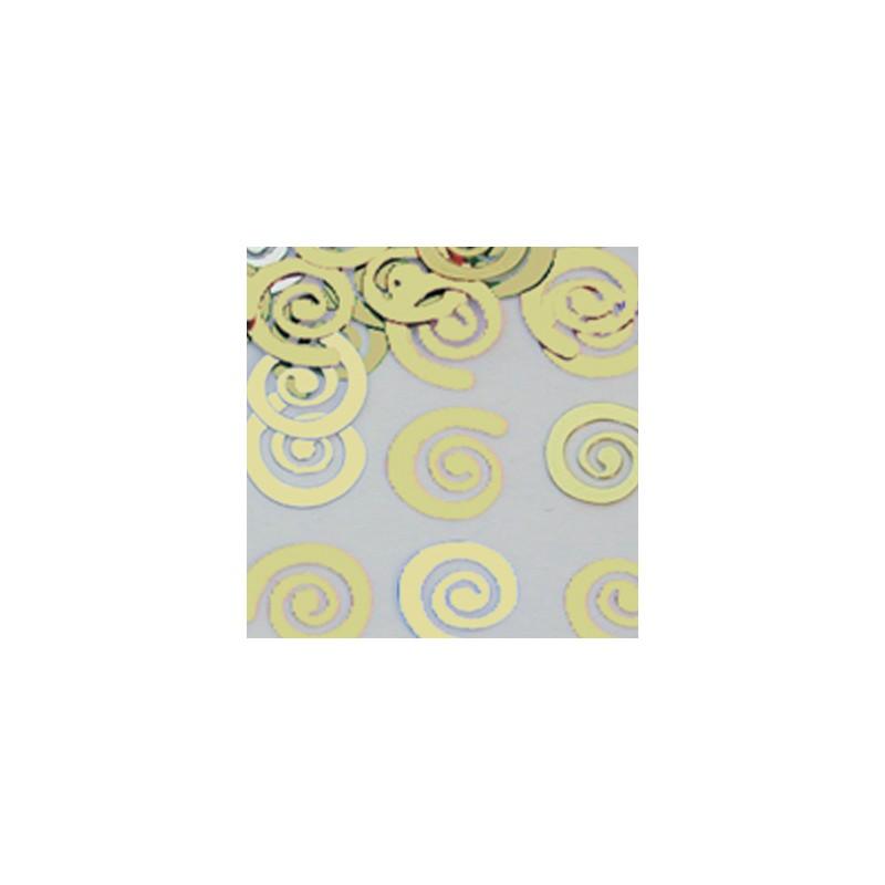 Konfetki - Spirals Gold