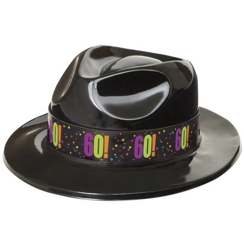 Birthday Cheer 60 gangster hat
