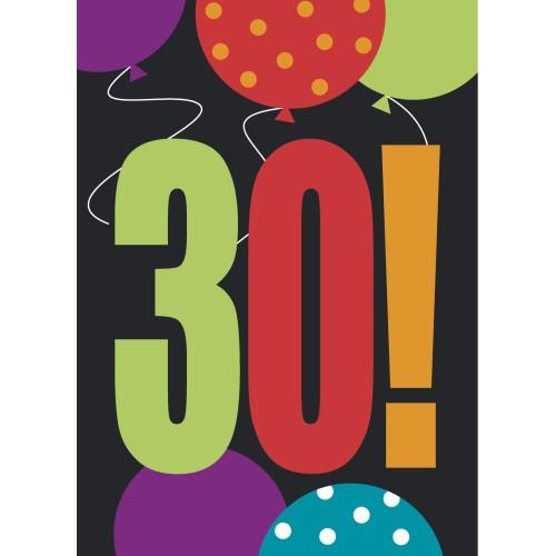 Birthday Cheer 30 vabila