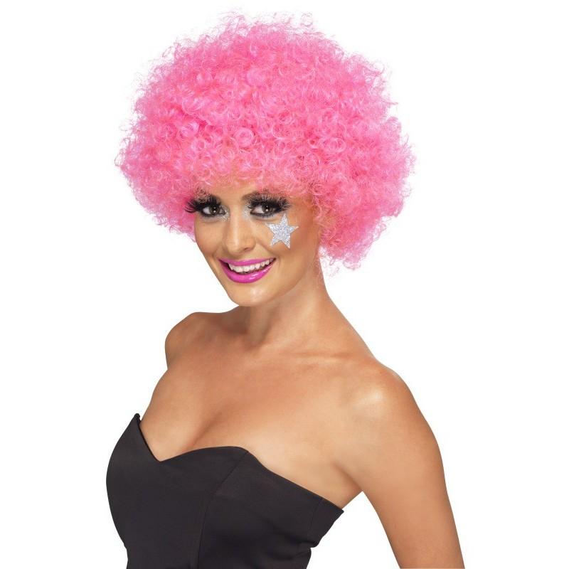 Afro lasulja pink