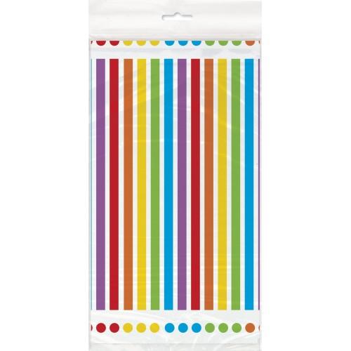 Rainbow tablecover