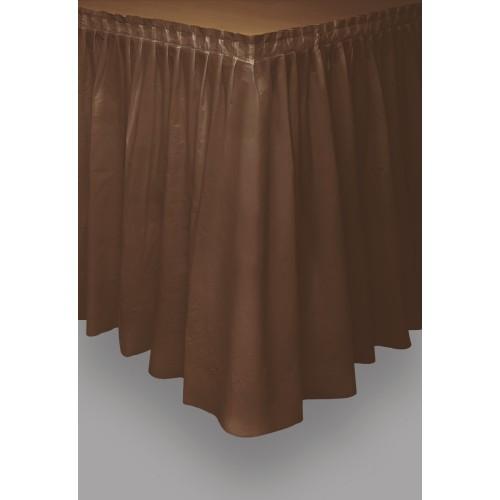 Tableskirt - brown