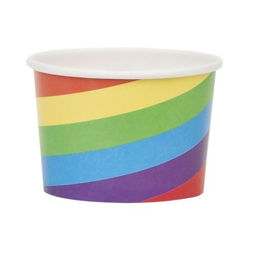 Rainbow Snack trays