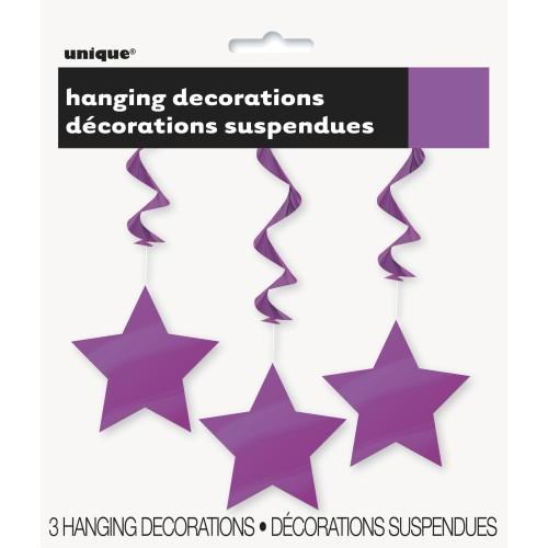 Hanging decoration - Pretty Purple