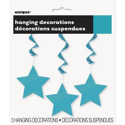 Hanging decoration - Caribbean teal