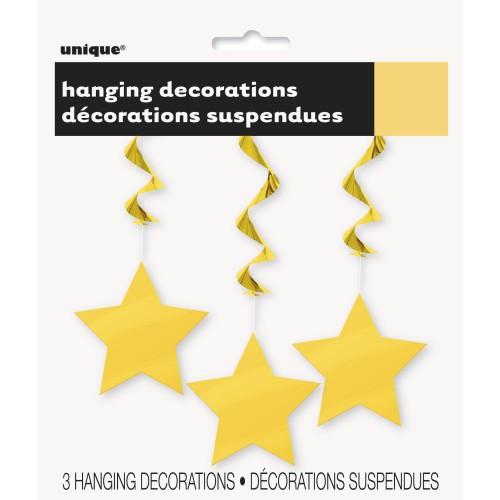 Hanging decoration - Sunflower yellow